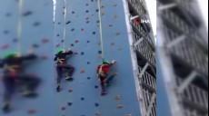 Son dakika - 6 yaşındaki çocuk tırmanma parkurundan yere böyle çakıldı