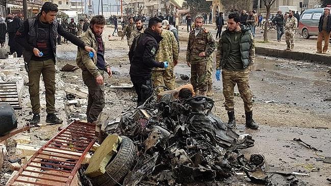 Afrin'de terör saldırısı: 1 ölü, 20 yaralı