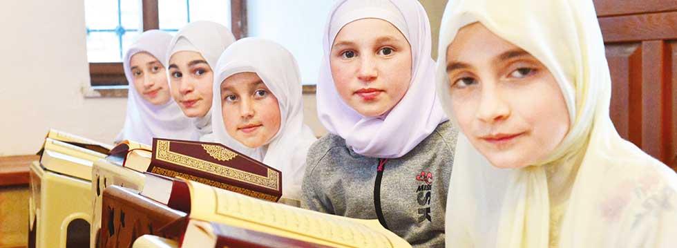 Makedon çocuklar, Osmanlý yadigarýnda Ýslam'ý öðreniyor