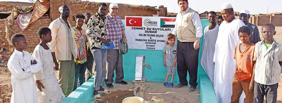 Hicaz Derneði, Sudan'a 20 su kuyusu açtý